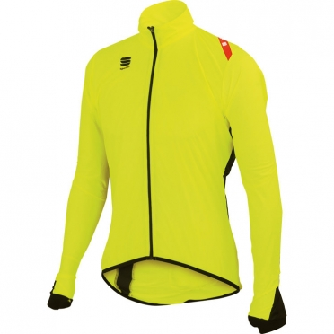Sportful hot pack 5 jacket yellow men