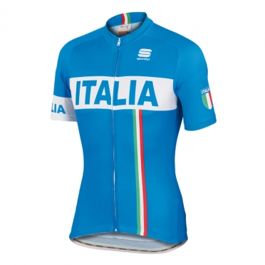 Sportful Italia IT cycling jersey blue men