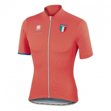 Sportful Italia CL cycling jersey red men