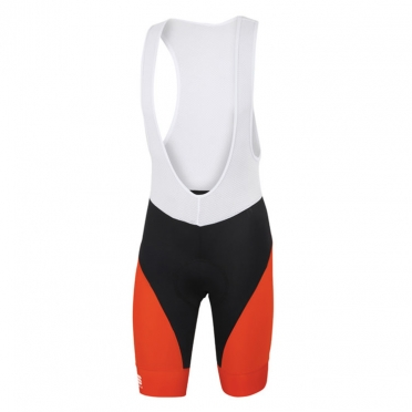 Sportful Fiandre Light No-rain Bibshort black/red men
