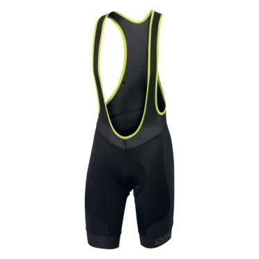 Sportful Passo Bibshort black/yellow men