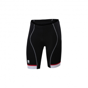 Sportful Giro 2 Sol cycling short 24cm black/white/red men