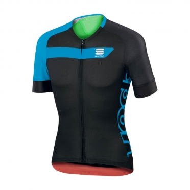 Sportful Veloce Cycling Jersey black/blue men