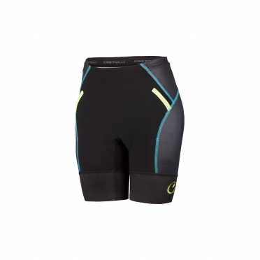 Castelli Free W tri Short black/yellow women 16078-321