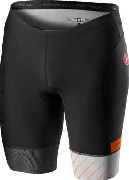 Castelli Free tri short black/silvergray men