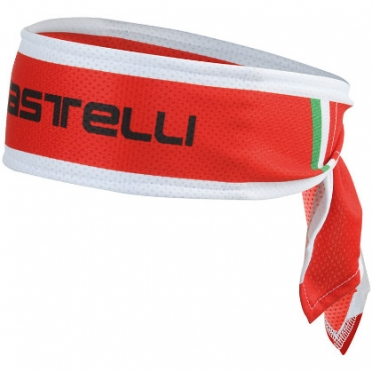 Castelli Headband red