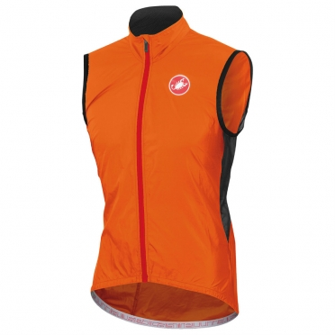 Castelli Velo vest orange-fluo mens 14027-036