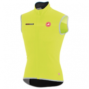 Castelli Fawesome 2, gabba windvest vest yellow-fluo mens 14514-032