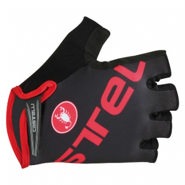 Castelli Tempo V glove black/red mens 15027-231 2015