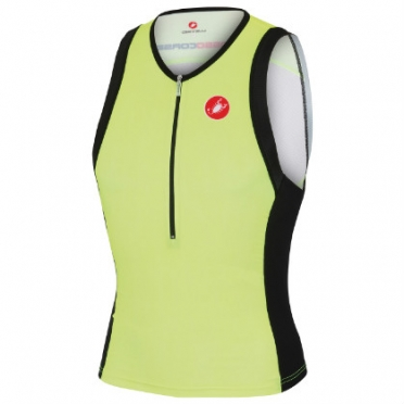 Castelli Free tri top yellow mens 13024-032 2015