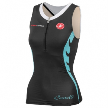 Castelli body paint W tri singlet women 14117-101 2015