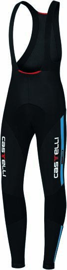 Castelli Sorpasso bibtight mens black/blue 10510-059