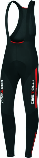 Castelli Sorpasso bibtight mens blackred 10510-123