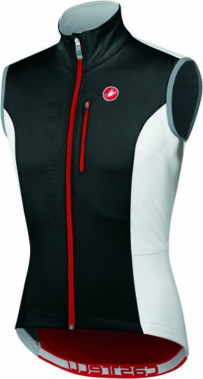 Castelli Isterico windvest black/white/red mens 11504-101