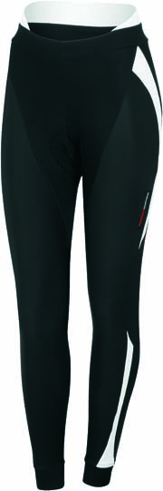 Castelli Sorpasso W tight black/white women 12534-101