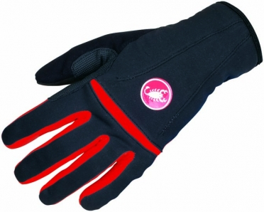 Castelli Cromo cycling glove black/red women 14571-231