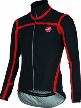 Castelli Pavé jacket black/red mens 15511-010