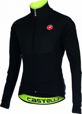 Castelli Passo giau jacket black/yellow-fluo mens 15521-010