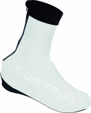 Castelli Corsa overshoes white mens 15545-001