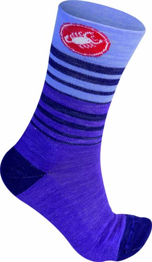 Castelli Righina 13 cycling sock violet women 15576-061