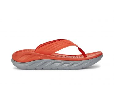 Hoka One One ORA Recovery Flip red men
