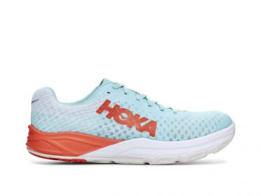 Hoka One One Evo Carbon Rocket running shoes blue/red men Kopie
