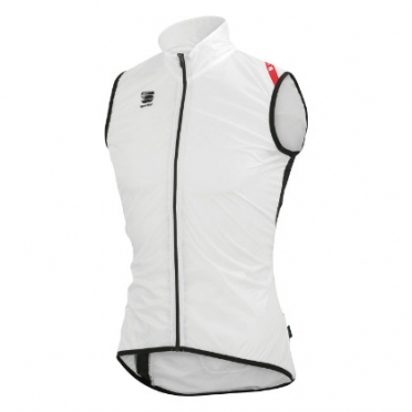 Sportful Hot pack 5 vest white/black men
