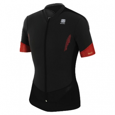 Sportful R&D jersey cycling shirt men's black/red 1199-123 2014