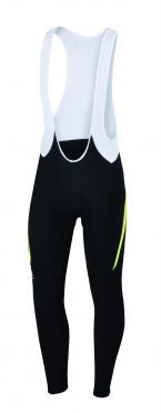 Sportful Gruppetto bibtight black/yellow/red men