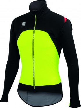 Sportful Fiandre Light Ws jacket yellow/black men
