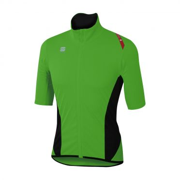 Sportful Fiandre light norain short sleeve jersey green men