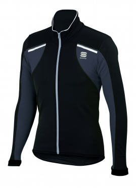 Sportful Alpe 2 Softshell Jacket black-white men 01399-002