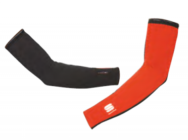 Sportful Fiandre Extreme arm warmers red
