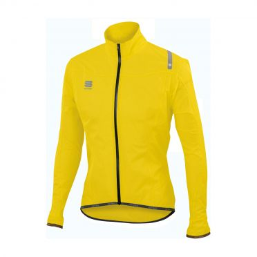 Sportful Hotpack norain ultralight long sleeve jacket yellow fluo men