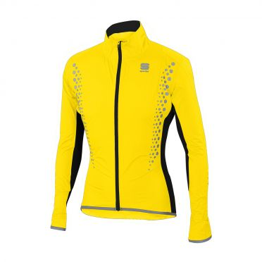 Sportful Hotpack Hi Viz norain long sleeve jacket yellow fluo men