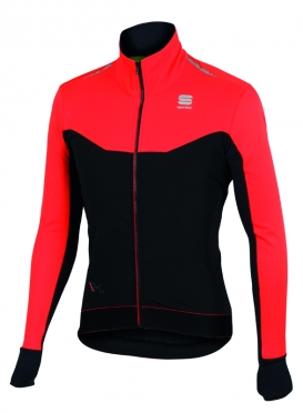 Sportful R&D light jacket black/red men