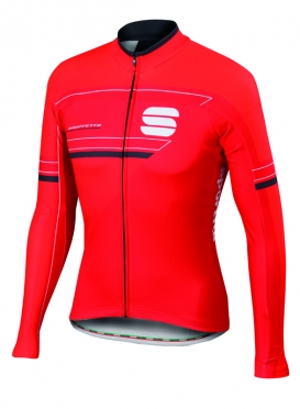 Sportful Gruppetto thermal jersey red men