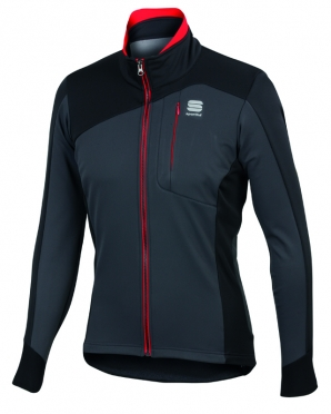 Sportful Edge softshell jacket black men