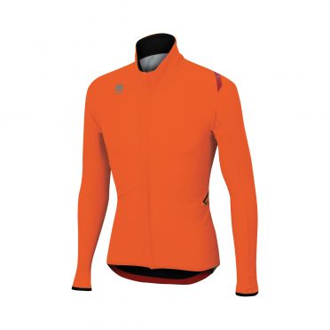 Sportful Fiandre light wind long sleeve jacket orange men