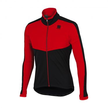 Sportful Pordoi WS long sleeve jacket red/black men