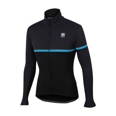 Sportful Giara softshell jacket black/blue men