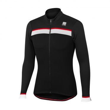 Sportful Pista thermal jersey black men