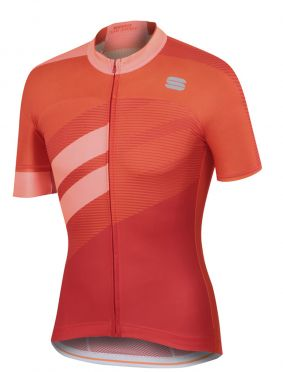 Sportful Bodyfit team jersey red/orange men