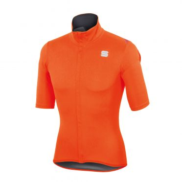 Sportful Fiandre light norain short sleeve top orange men