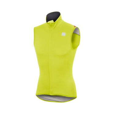 Sportful Fiandre light norain sleeveless vest yellow men