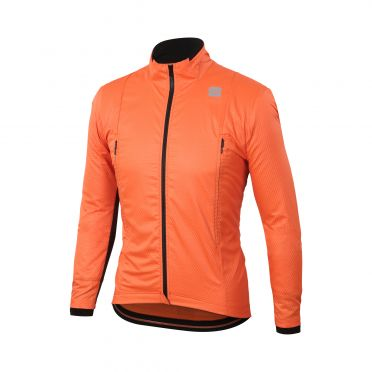 Sportful R&D intensity jacket orange men