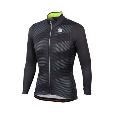 Sportful Moire thermal jersey anthracite men