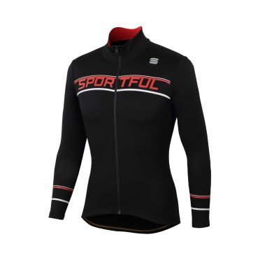 Sportful Giro thermal jersey black men