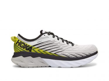 Hoka One One Arahi 4 running shoes grey/yellow men