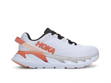 Hoka One One Elevon 2 running shoes white/pink women